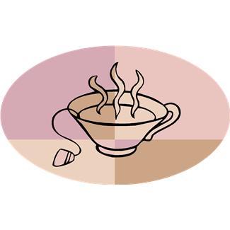 家庭訪問お茶