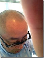 ハゲ髪型坊主2