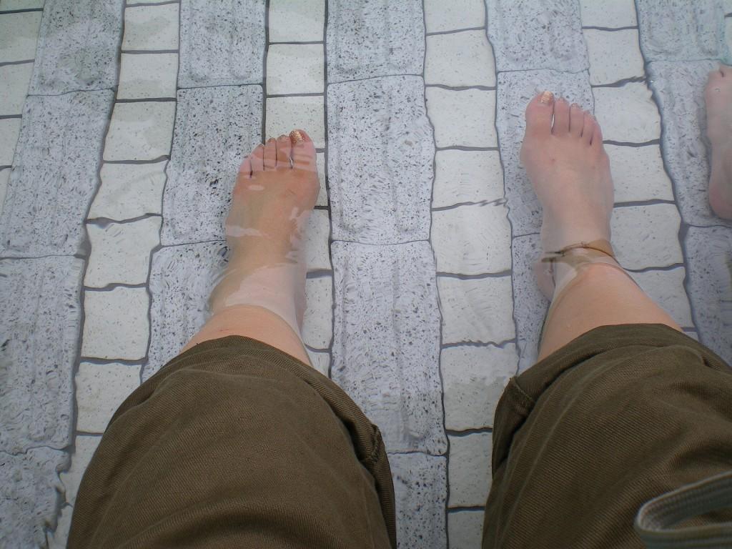 足水のイメージ