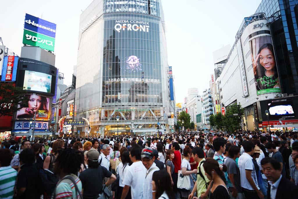 渋谷スクラングル交差点